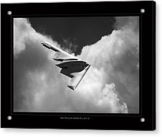 B-2 Spirit Acrylic Print by Larry McManus