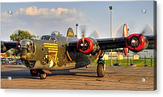 B-24j Acrylic Print by Dan Myers