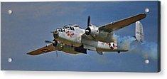 B-25 Take-off Time 3748 Acrylic Print