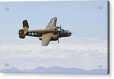 B-25j Mitchell Acrylic Print by Ross Murphy