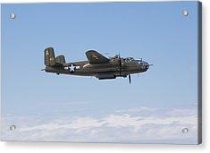 B-25j Acrylic Print by Ross Murphy