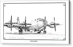 B-29 Acrylic Print