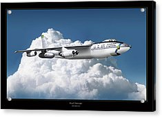 B-47 Stratofortress Acrylic Print by Larry McManus