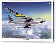 B-47e Stratojet Acrylic Print by Mark Karvon