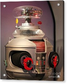 Acrylic Print featuring the photograph B-9 Robot From Lost In Space by Cynthia Snyder