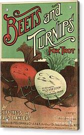 B Feldman & Co  1920s Uk  Cc Acrylic Print
