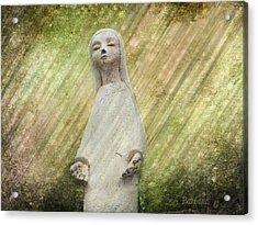 B. Grateful Acrylic Print by Barbara Orenya