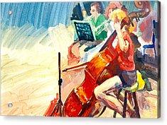 B03. Further Development Of Figures Acrylic Print
