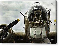 B17 Bomber Form Ww II Acrylic Print