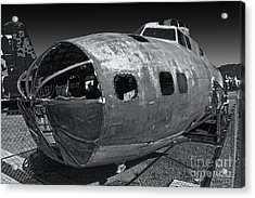 B17 Derelict Airplane - 02 Acrylic Print by Gregory Dyer