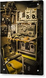 B26 Bomber Radioman Acrylic Print