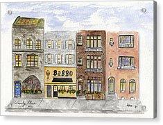 Babbo @ Waverly Place Acrylic Print by AFineLyne