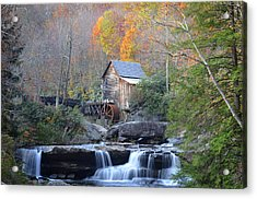 Babcock State Park Mill Acrylic Print