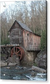 Babcock Watermill Acrylic Print by Dwight Cook