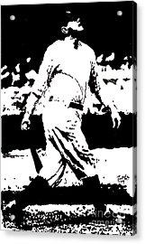 Babe Ruth Drawing Acrylic Print