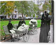 Babies In Rittenhouse Square Acrylic Print
