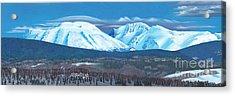 Babine Mountain Range Acrylic Print