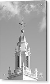 Babson College Tomasso Hall Cupola Acrylic Print by University Icons