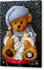 Baby Bear Ready For Christmas Acrylic Print
