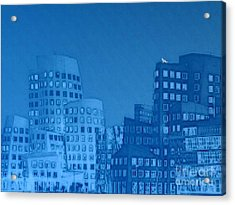 Baby Blue Acrylic Print