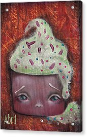 Baby Cakes II Acrylic Print by Abril Andrade Griffith