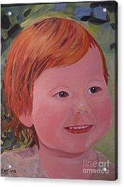 Baby Cheeks Acrylic Print