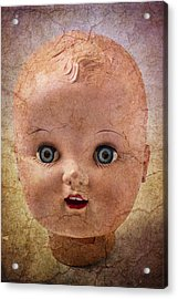 Baby Doll Face Acrylic Print by Garry Gay