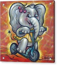 Baby Elephant 101011 Acrylic Print