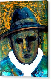 Baby Face Nelson Acrylic Print by Aquira Kusume