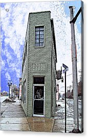 Baby Flatiron In River Rouge Acrylic Print by MJ Olsen