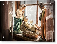 Baby Jesus Welcoming A New Day Acrylic Print