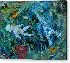 Baby Paris Acrylic Print