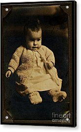 Baby Virginia 1930 Acrylic Print by Unknown