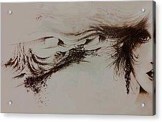 Babylon Acrylic Print by Rachel Christine Nowicki