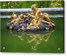 Bacchus Fountain Acrylic Print