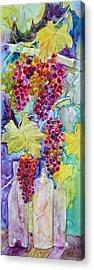 Bacchus Acrylic Print by Nancy Jolley