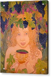 Bacchus Acrylic Print by Ron Moses