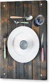 Bachelor's Dinner Acrylic Print by Joana Kruse