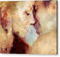 Baci Baci - Abstract Realism Acrylic Print