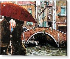 Baci Tra Le Calli Acrylic Print
