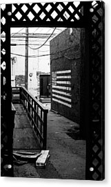 Back Alley America Acrylic Print by Nathan Hillis