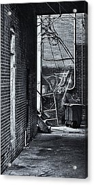 Acrylic Print featuring the photograph Back Alley by Greg Jackson