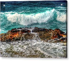 Back At Sea Acrylic Print