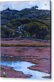Back Bay At Morro Bay Acrylic Print