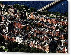 Back Bay Acrylic Print