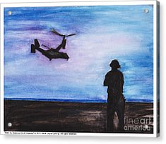 Back By Daybreak Acrylic Print by Sarah Howland-Ludwig