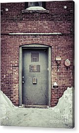 Back Door Alley Way Acrylic Print