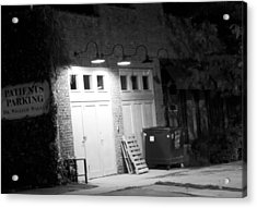 Back Entrance Acrylic Print by Jim Finch