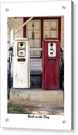 Back In The Day Acrylic Print by Terry Spencer