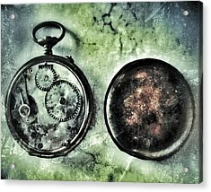 Back In Time Acrylic Print by Marianna Mills